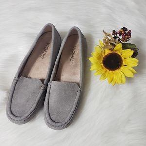 Gray Vionic shoes flats